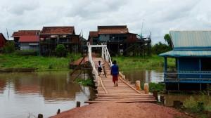 Le pont au bout du village