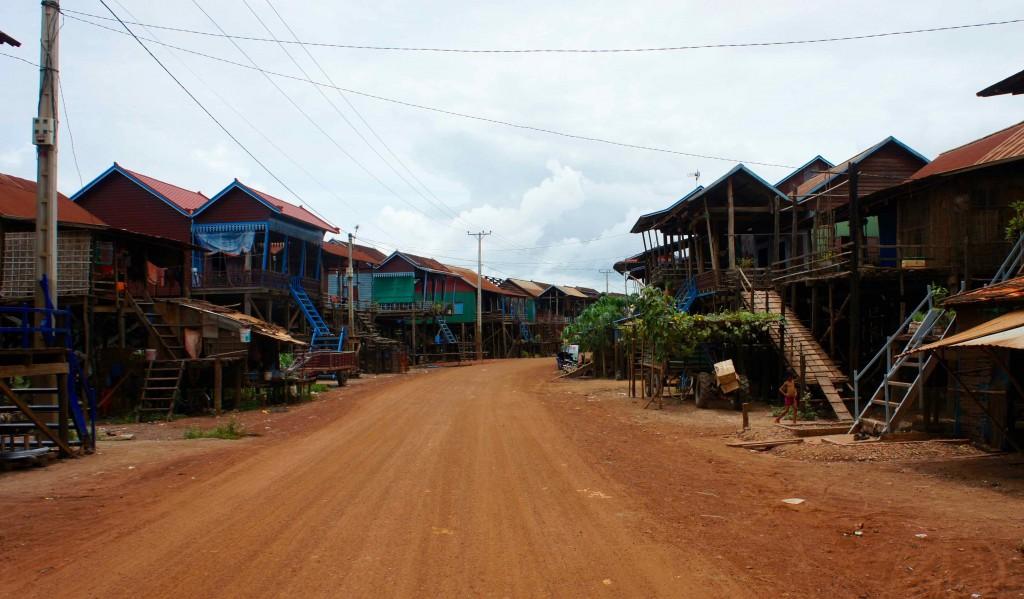 Arrivée à Kampong Khleang