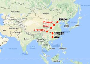 Chengdu - Xi'an - Pingyao