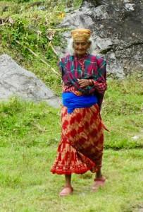 Femme népalaise