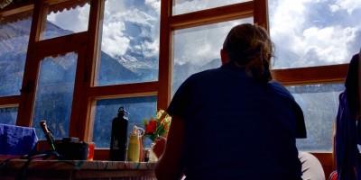 Déjeuner face à l'Annapurna II