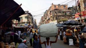 Les rues de Kolkata