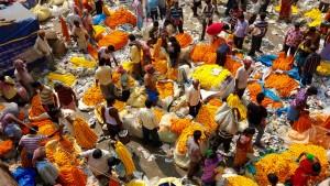 Marché aux fleurs de Kolkata