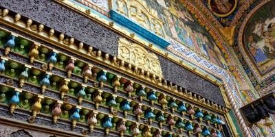 Détail de la porte, avec notre Ganesh tant aimé