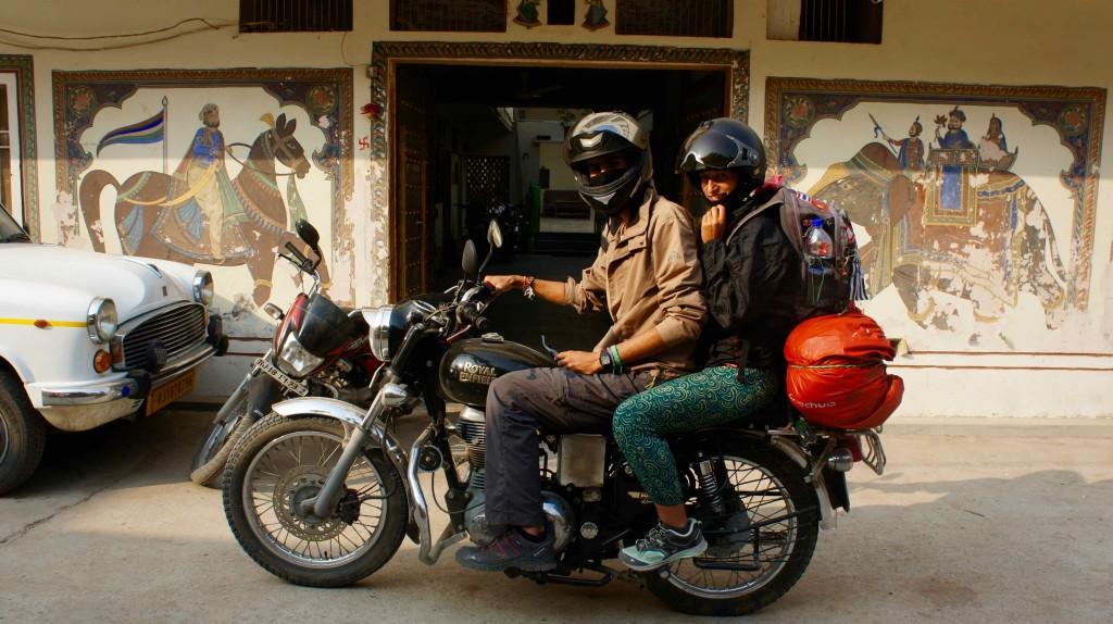 Dernier jour en moto !