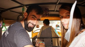 On aime les rickshaw ! ...
