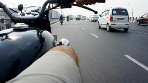 Autoroute à la sortie de Delhi