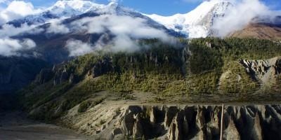 Glacier Gangapurna
