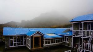 5h du mat' au camp de base du lac Tilicho