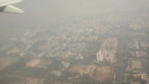 Delhi vue du ciel...