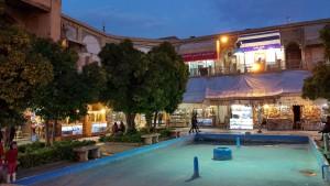 Centre du bazar de Shiraz