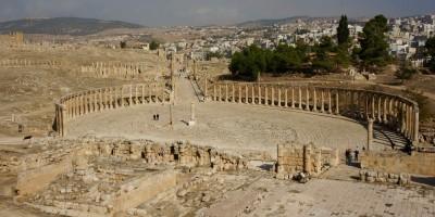 Place centrale de Jerash