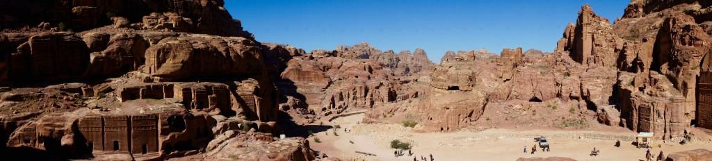 Centre-ville de Petra