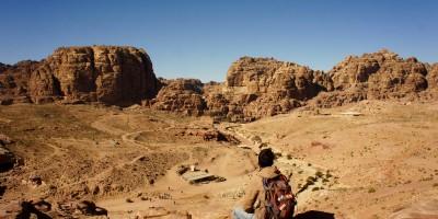 Vue sur Petra