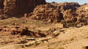 Point de vue sur Petra