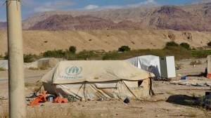 Tente de réfugiés