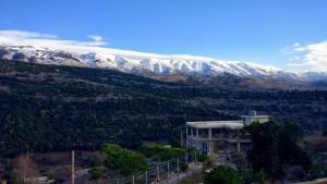 La chaîne du Mont Liban