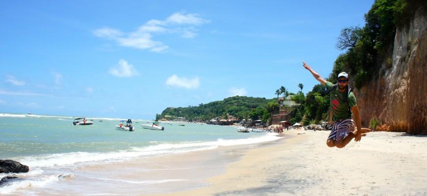 La plage centrale de Pipa