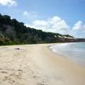 Baia dos Golfinhos : uniquement accessible à marée basse