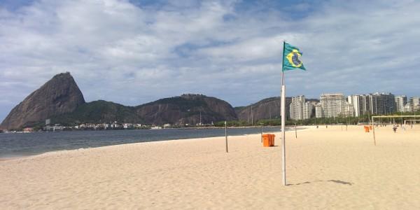 Plage de Flamengo (5min de l'appart), avec vue sur le Pao de Azucar