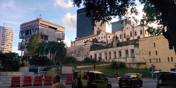 Centro, où les bâtiments historiques côtoient les nouveaux