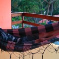 Un peu de détente… Ici il y a des hamacs partout !