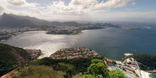 Pain de Sucre : vue sur Botafogo, Flamengo et Central