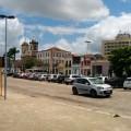 Panoramique de la place centrale de Penedo