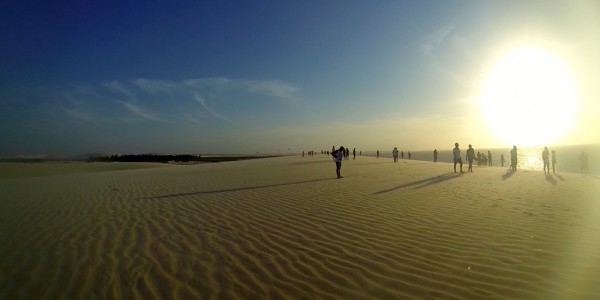 Sur la dune de Jeri