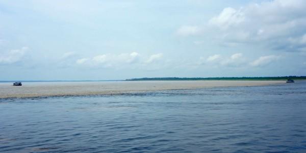 Rencontre du Rio Negro & Rio Amazone