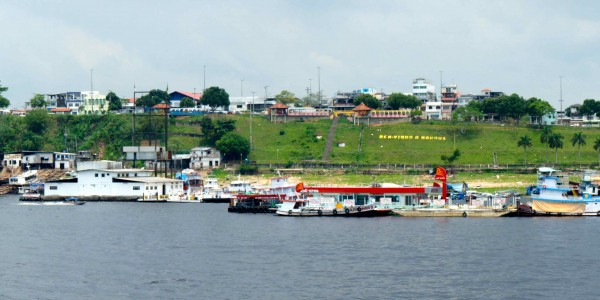 Arrivée à Manaus