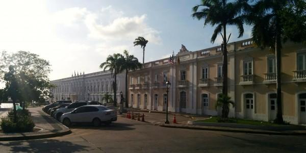 Le Palais, visité (très beau)
