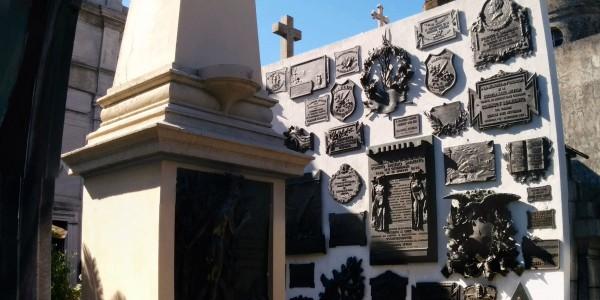 Recoleta : tombeau d'un des 1ers maires de Buenos Aires