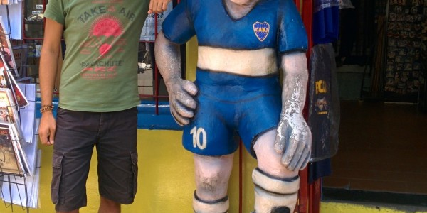 Caminito avec Maradona
