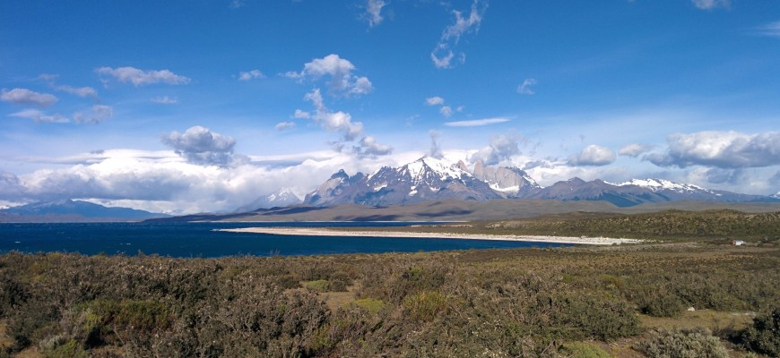 Le massif de Torres del Paine