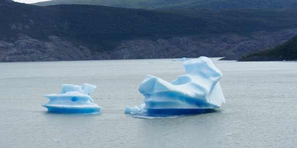 Icebergs du glacier
