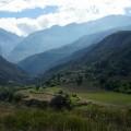 Vallée du haut de notre route