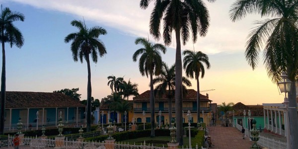 Trinidad, plaza mayor