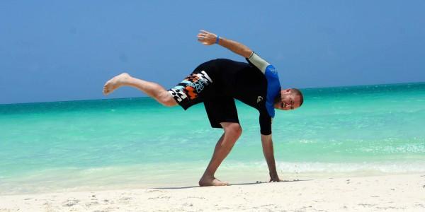 Sanders à Playa Pilar