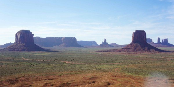 La plaine de la Monument Valley