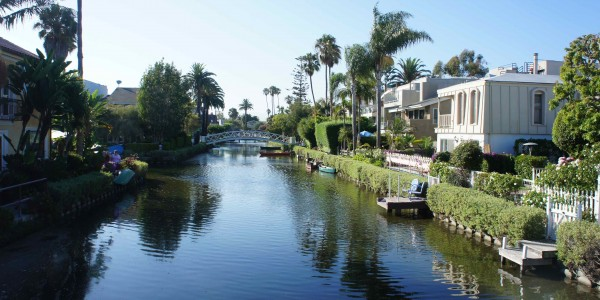 Quelques canaux autour de Venice Beach : TOP !