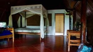 L'intérieur de la maison Batak