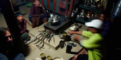 Dal Bhat aux champignons, à Odar