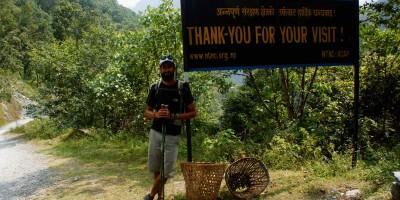 Bye bye les Annapurnas…